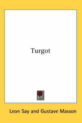 Turgot by Leon Say image