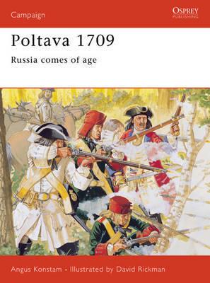 Poltava, 1709 by Angus Konstam