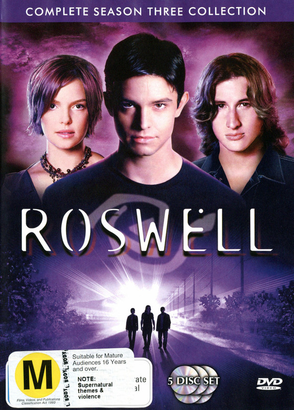 Roswell - Complete Season 3 The Final Chapter (5 Disc Box Set) on DVD