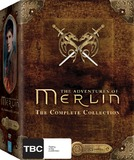 Adventures of Merlin : Complete Collection Seasons 1-5 DVD