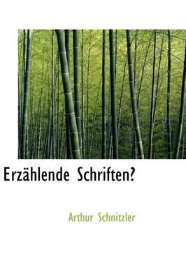 Erzhlende Schriften by Arthur Schnitzler image