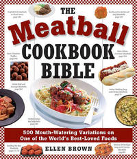Meatball Cookbook Bible by Ellen Brown image