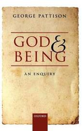 God and Being by George Pattison