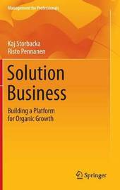 Solution Business by Kaj Storbacka
