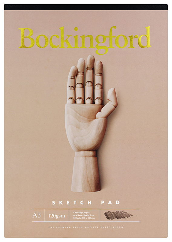 Bockingford A3 B21 60lf 120gsm Sketch Pad