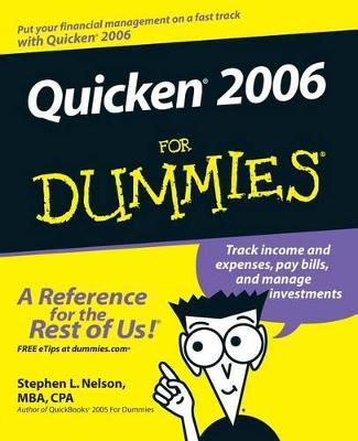Quicken 2006 For Dummies by Stephen L. Nelson