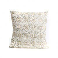 Gold & Lace Cushion