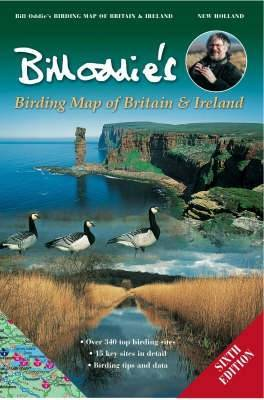 Bill Oddie's Birding Map of Britain and Ireland by Bill Oddie