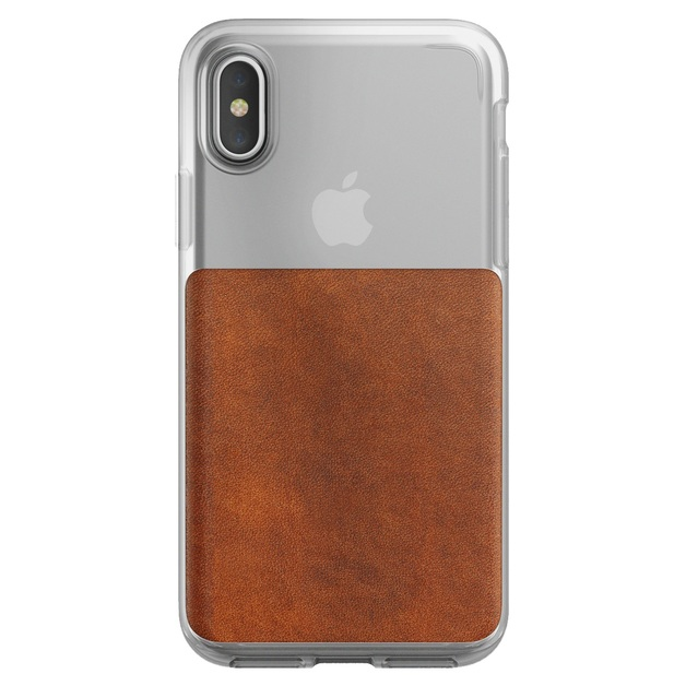 new product 5eafd f59c5 Nomad Leather Case - iPhone X/XS   at Mighty Ape NZ
