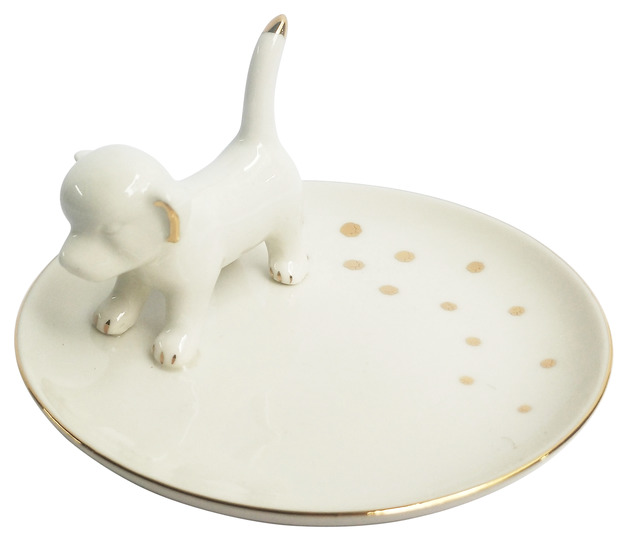 Dog Trinket Dish (12cm)