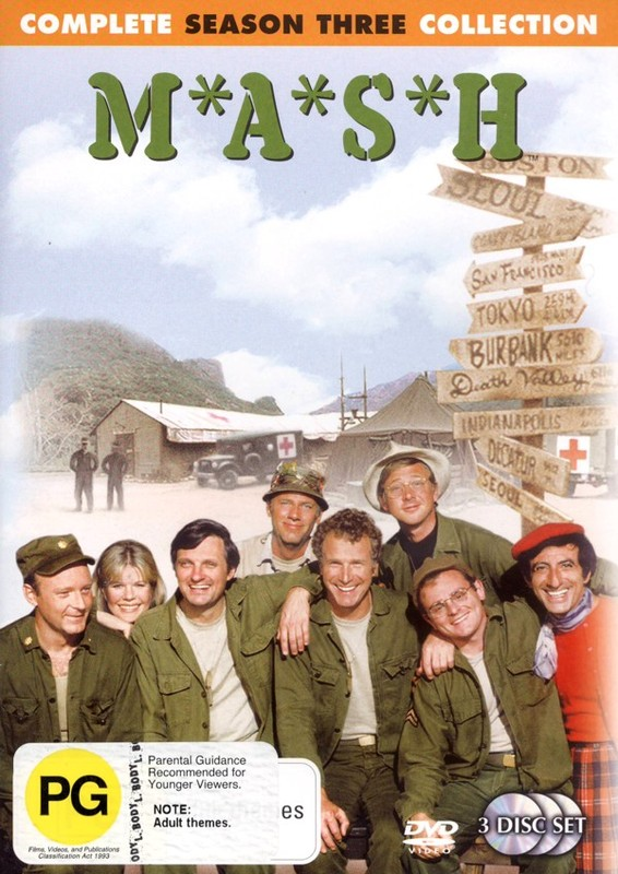 MASH - Complete Season 3 Collection (3 Disc Set) (New Packaging) on DVD
