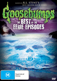 Goosebumps: Best of the Eerie Episodes on DVD