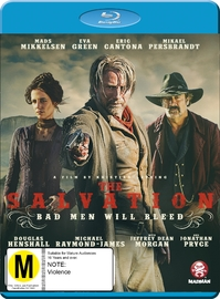 The Salvation on Blu-ray