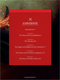 The World of the Witcher: Video Game Compendium by CD Projekt Red
