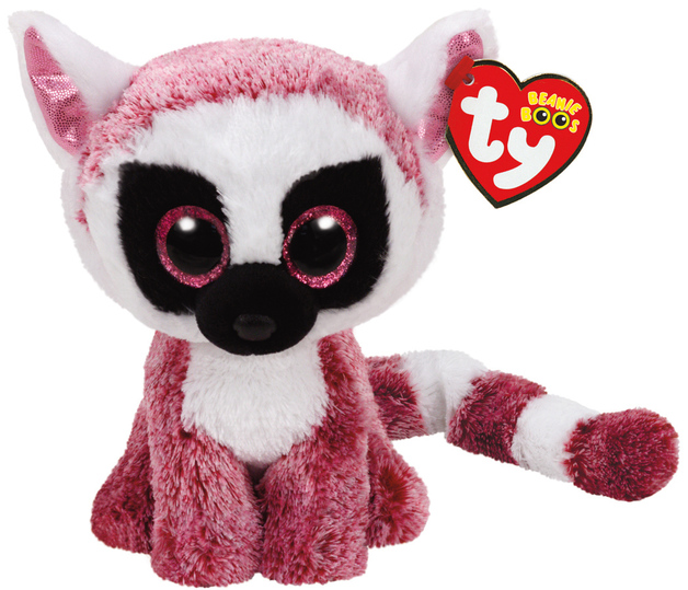 Ty: Beanie Boo Pink Lemur   Toy   at Mighty Ape NZ