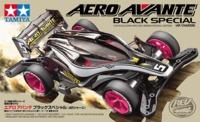 Tamiya Mini 4WD JR Aero Avante Black Special - AR Chassis