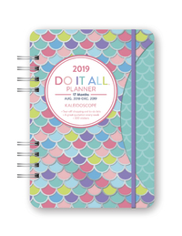 Do It All: Kaleidoscope 17 Month 2019 A5 Diary