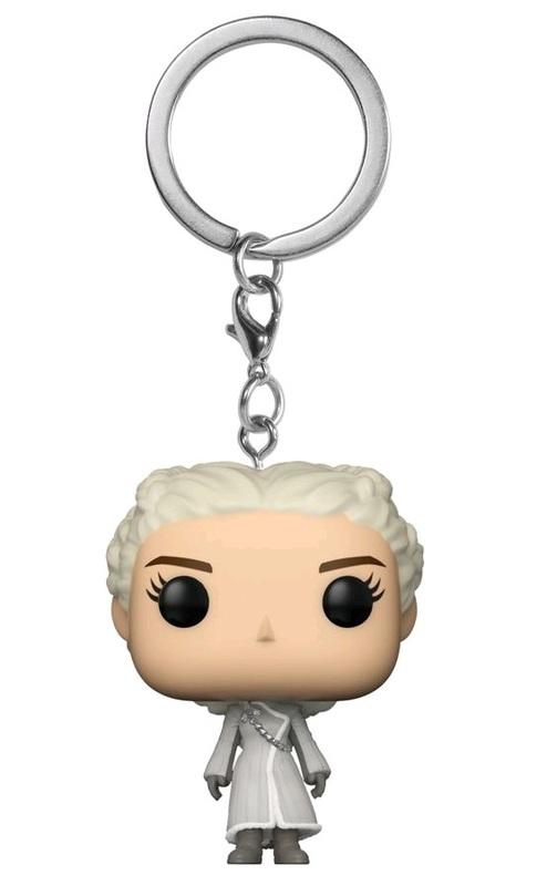 Game of Thrones (S8) - Daenerys (White Coat) Pocket Pop! Keychain
