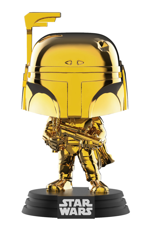 Star Wars - Boba Fett (Gold Chrome) Pop! Vinyl Figure