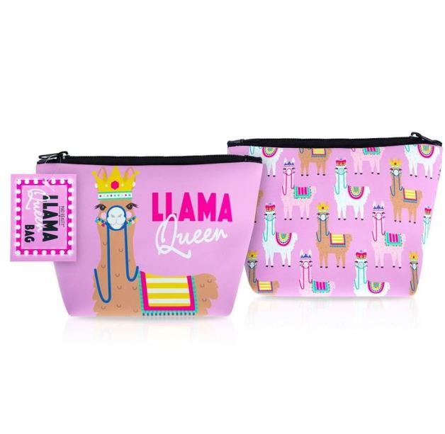 Mad Beauty: Llama Queen Cosmetic Bag