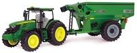 John Deere: 1:16 John Deere 6210R Tractor with Frontier Grain Cart