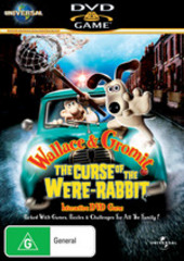 Wallace & Gromit DVD Game on DVD