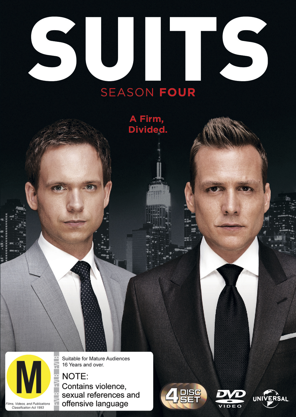 Suits - Season Four on DVD image