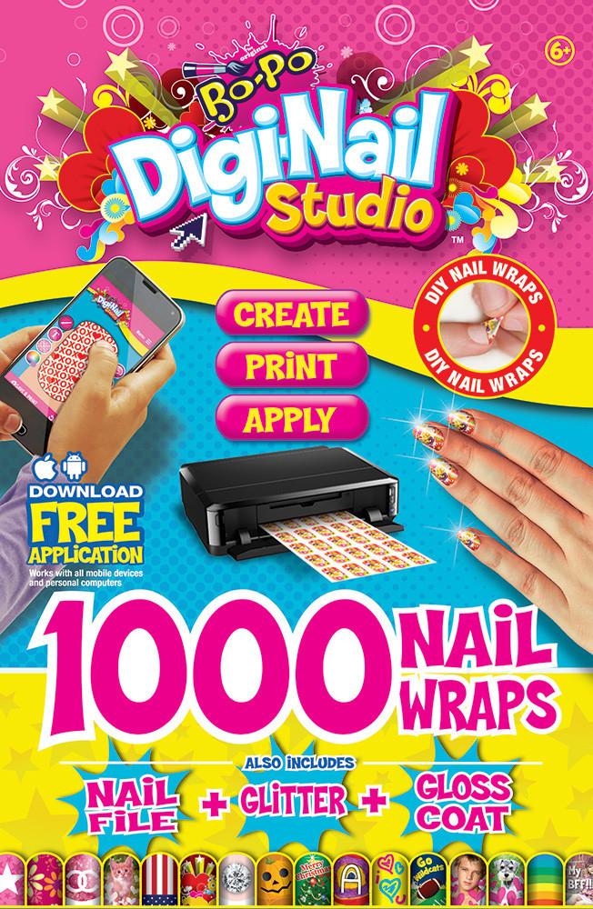 Bo-Po Peel-Off Nail Colour: Digi-Nails Starter Pack image