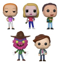 Rick & Morty: Series 2 - Pop! Vinyl Bundle
