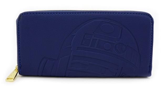 Loungefly: Star Wars R2 & C3PO - Blue Zip Around Wallet