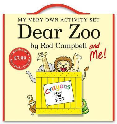 """My Very Own """"Dear Zoo"""" Activity Pack by Rod Campbell image"""