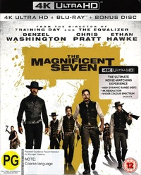 The Magnificent Seven on Blu-ray, UHD Blu-ray