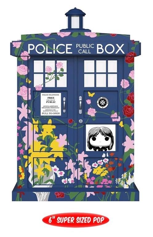 "Doctor Who - Tardis (Floral) 6"" Pop! Vinyl Figure"
