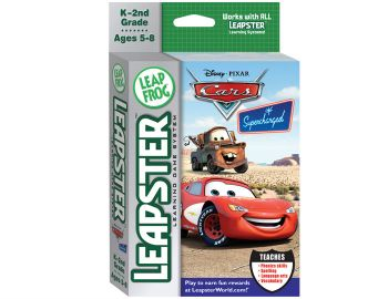 LeapFrog Leapster Game Cars Supercharged image
