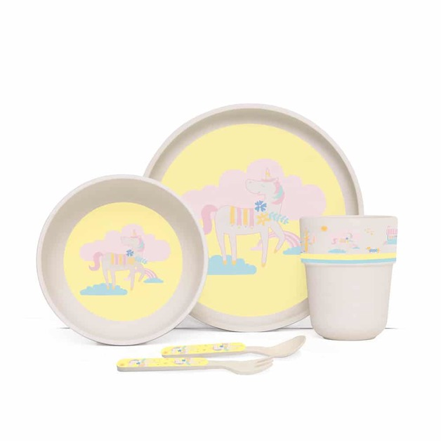 Penny Scallan: Park Life Bamboo Meal Set with Cutlery