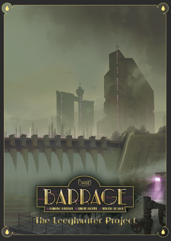 Barrage: The Leeghwater Project - Game Expansion