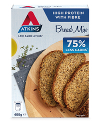 Atkins Low Carb Breadmix 400g (6 Box Value Pack)