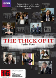 The Thick of It - Series 4 on DVD