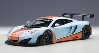 Autoart: 1/18 McLaren 12C GT3 (Blue/Orange)
