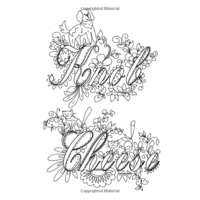 Adult Coloring Pages Swear Words - Part 6 | Free Resource For Teaching | 200x200