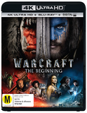 Warcraft: The Beginning (4K UHD + Blu-ray + UV) DVD