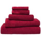 Bambury Costa Cotton Bath Sheet (Raspberry)