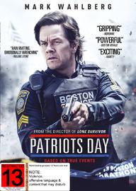 Patriots Day on DVD