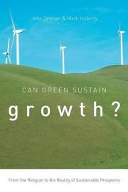 Can Green Sustain Growth? by John Zysman