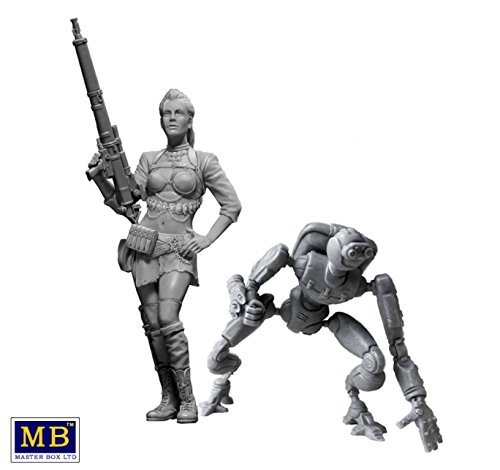 1/24 At the Edge of the Universe. Strange Company's Adventures. Episode I. The First Meeting: Back off (2 Figures) - Model Kit image