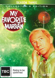 My Favourite Martian Season 3 on DVD