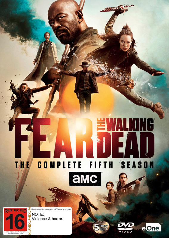 Fear the Walking Dead - The Complete Fifth Season on DVD