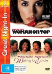 Woman On Top / Waiting To Exhale - Great Night In (2 Disc Set) on DVD