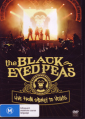 Black Eyed Peas, The - Live From Sydney To Vegas on DVD