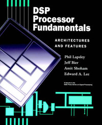 DSP Processor Fundamentals by Phil Lapsley image